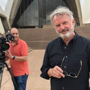 Behind the scenes of Australian Story's program on actor Sam Neill